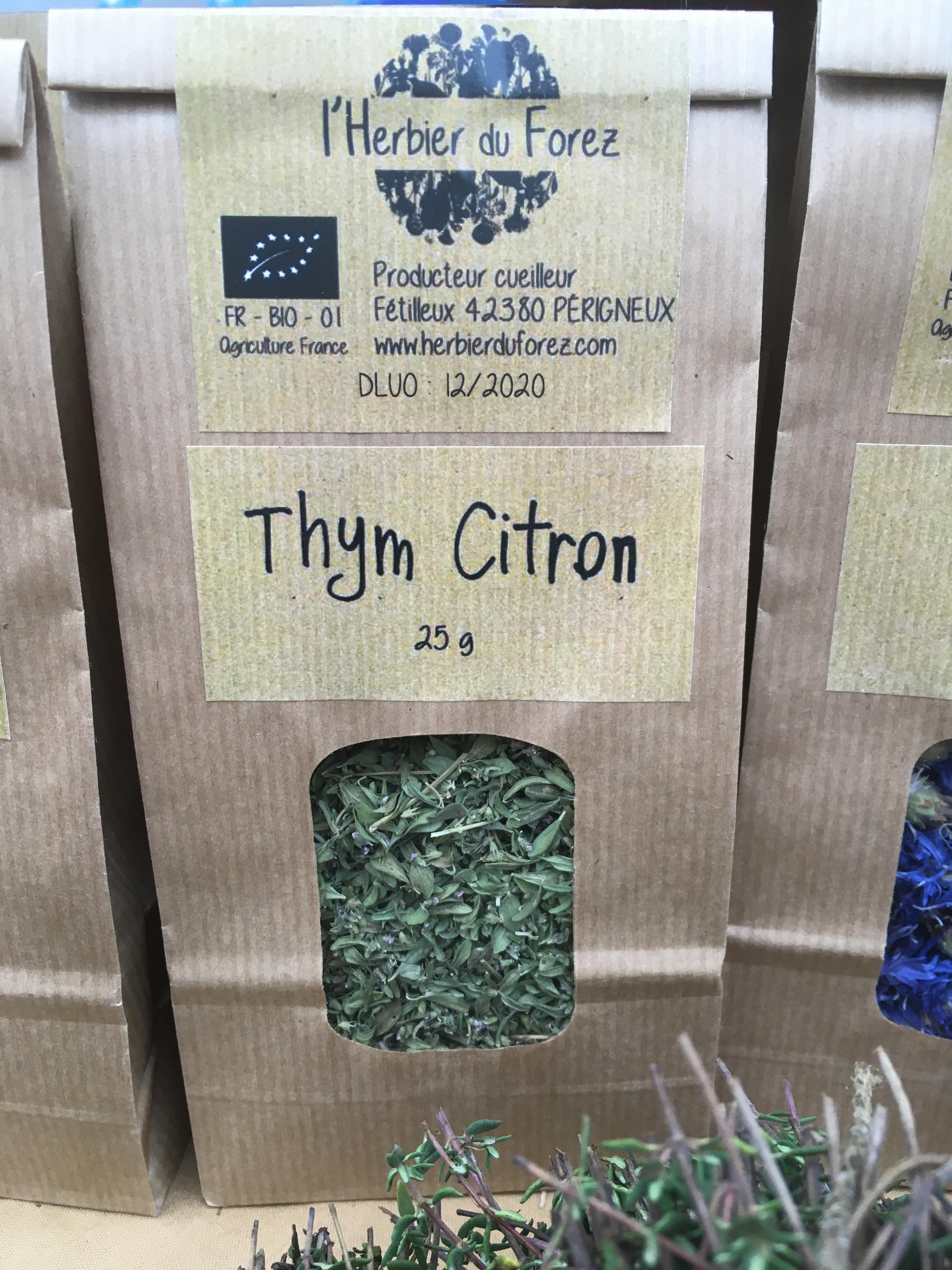 Thym citron